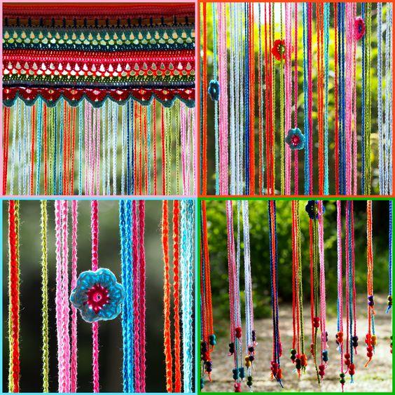 Kleurig vliegengordijn made by me. (naar patroon uit http://1.bp.blogspot.com/-RAYsZxCHrsE/Ug_AhtA8AhI/AAAAAAAAQ1U/r2t4rd1rYCs/s1600/omslag+boek.JPG )