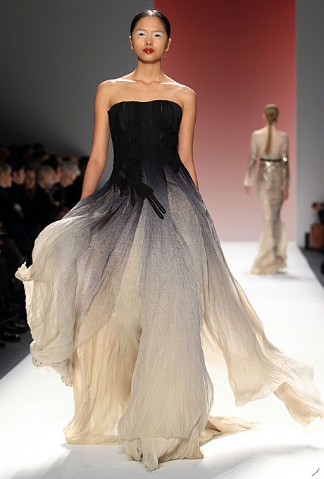 Gown by Bibhu Mohapatra, Fall 2012  #fashion #couture