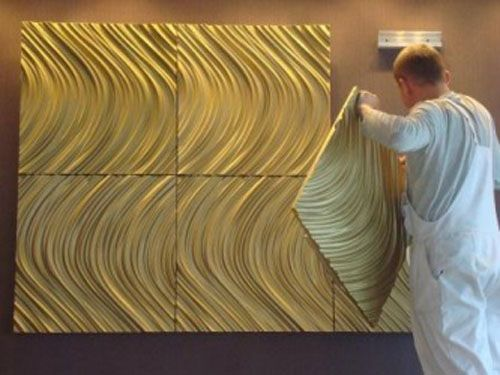 Decorative 3d Wall Panels Adding Dimension To Empty Walls And Modern Interiors Modern Interior