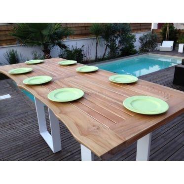 Mange debout de grande taille. Optez pour une table haute, façon originale et conviviale pour recevoir famille et amis, grande dimension: 180 x 70 x 105(h) cm