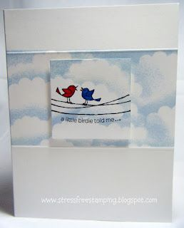 www.stressfreestamping.blogspot.com: Stress Free, For The Birds, Creative Cards, Fiona S Quilts, Stressfreestamping Blogspot, Free Stamping, Moving Forward