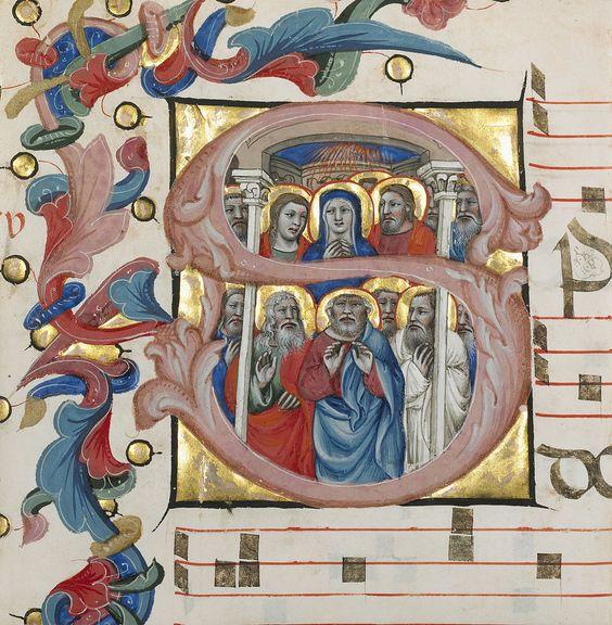 Tempera et or sur parchemin (fin XIVe) Niccolò da Bologna