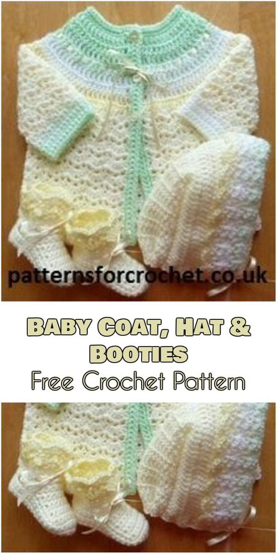 Adorable Baby Clothes Free Crochet Patterns | Crochet baby