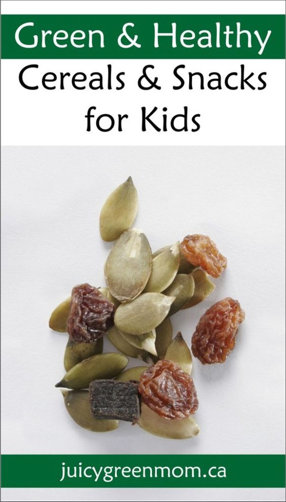 Looking for #green & #healthy cereals & snacks for your #kids? Here are some of my top picks.