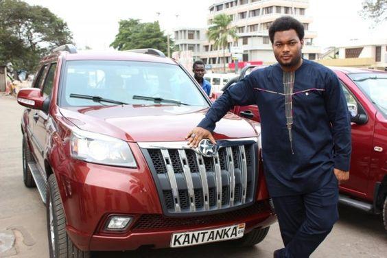 ✪ Une voiture 100 % africaine ! La Kantanka est une voiture réfléchie, conçue et fabriquée au Ghana. Cette marque automobile est certainement la plus prometteuse de toute les celles actuellement en Afrique.