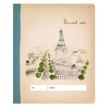 Paris Journal Notebook