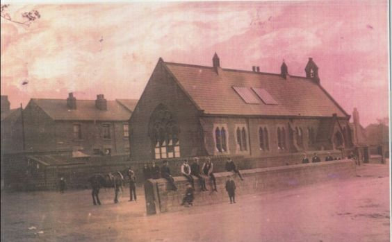 Pond School, Cudworth - opened in around 1850 as a school and also used as a place of worship until the 'new' church was built in 1893