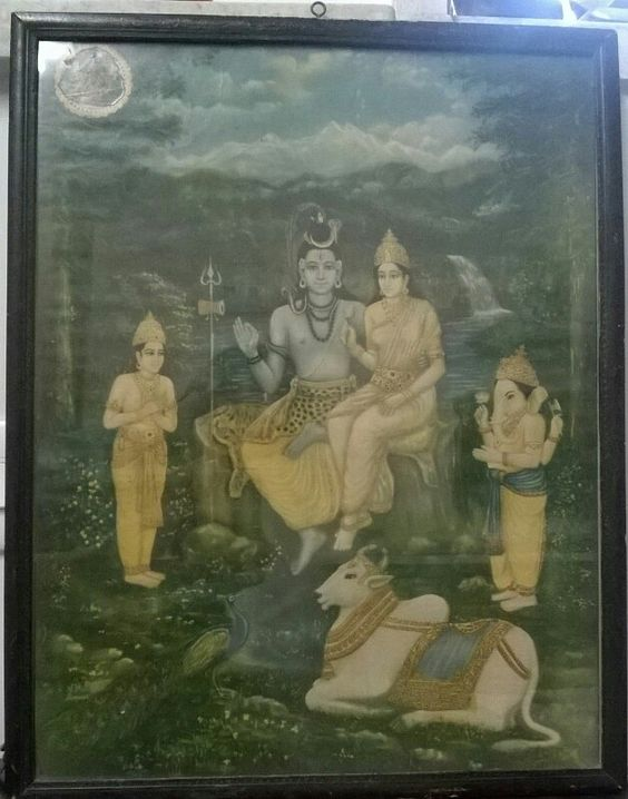#shivparivar From my very Personal Collection  I got this from my Local Temple here in mumbai