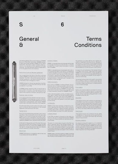 Sigmasix General Terms & Conditions