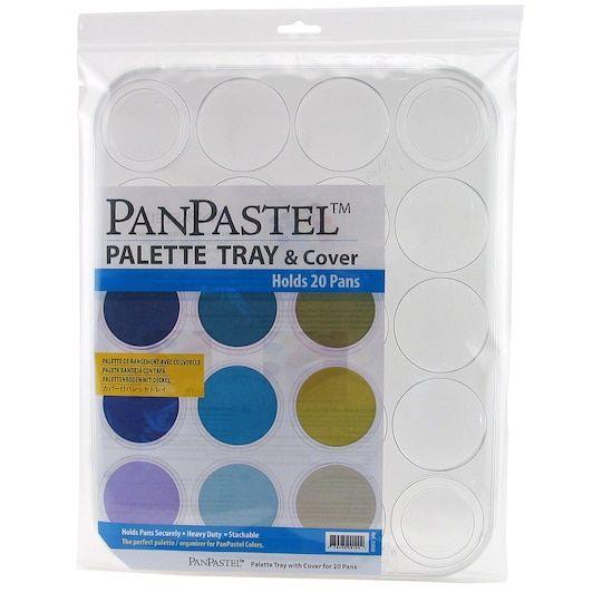 Panpastel 20 Color Tray Cover Michaels Palette Palette