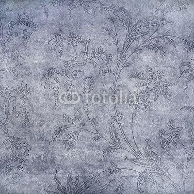 """Stampa su tela """"Lo sfondo floreale"""". #regala un #quadro #stampa su #tela per #cameradaletto"""