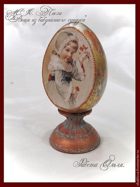 Яйца ручной работы. Ярмарка Мастеров - ручная работа Из бабушкиного сундука. Handmade.