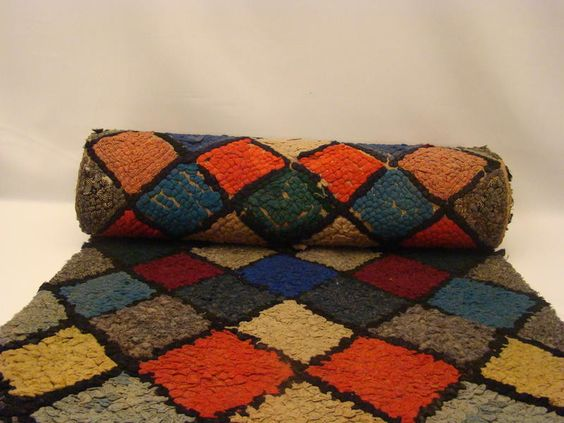 patterned rag rugs - Google Search