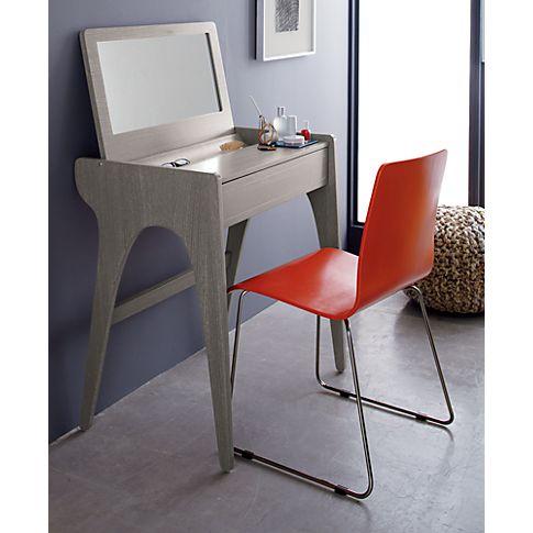 tango vanity in bedroom furniture cb2 compact vanity also doubles as a desk cb2 bedroom furniture