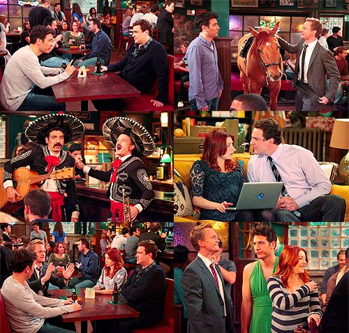Episode 21 ss7: I love it when Barney confesses his butterflies. Let's propose and marry Quinn! <3