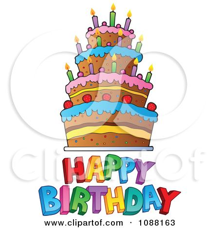 Birthday Clip Art Free Downloads | Clipart Happy Birthday Greeting ...