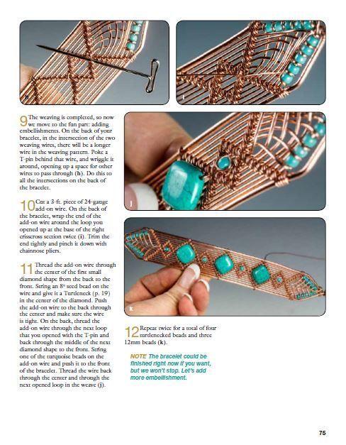 Искусство из проволоки Wire Wrap bracelet pict.4