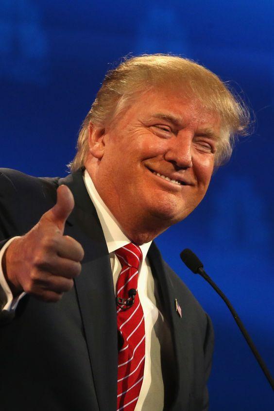cabello de Donald Trump