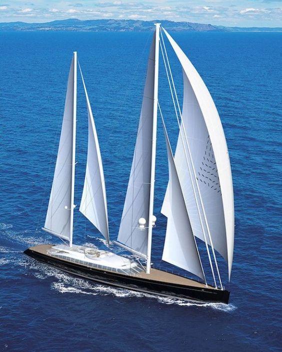 Парусная яхта Vertigo - покоритель морей