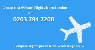 Flights from London UK: How to get Last Minute Flights