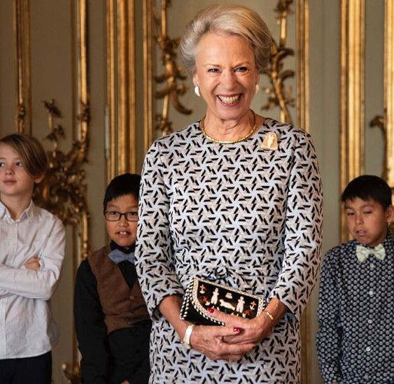 Princess Benedikte met with students from Greenland