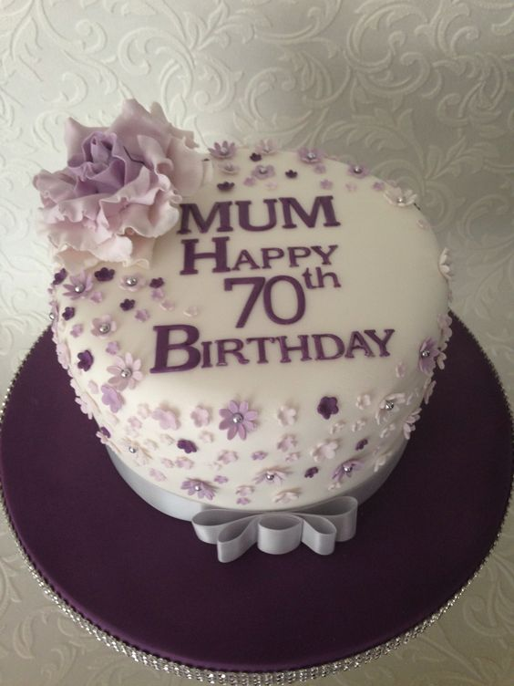 Cake Decorating Ideas For Mom S Birthday : 70th birthday cake 70th Birthday Pinterest 70th ...