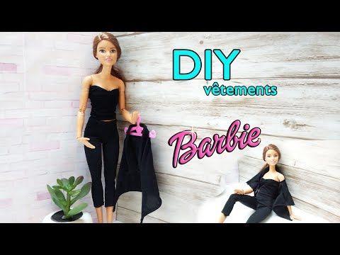 Tutoriel Comment Faire Des Habits Pour Barbie Youtube