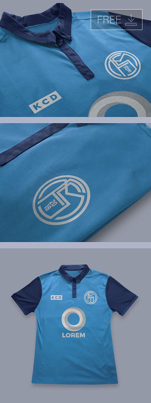 Download Free Football Full Kit Logo Mockup Template Logo Mockup Clothing Mockup Mockup Template Free