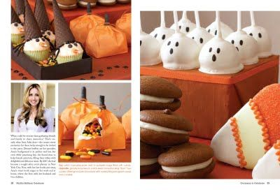 Maybe next year for Halloween I will do something like these pumpkin treat bags.