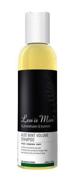 Less is More - Aloe Mint Volume Shampoo