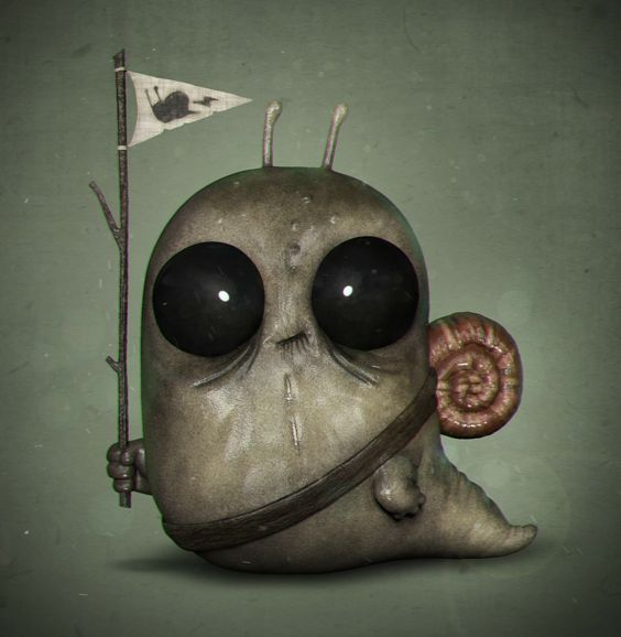 Freak Snail :) By Fabricio Prado: