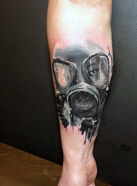100 Gas Mask Tattoo Designs For Men Breath Of Fresh Ideas Gas Mask Tattoo Mask Tattoo Tattoo Designs Men