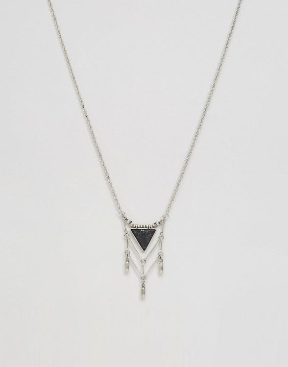 ASOS - Collier attrape-rêves triangulaire