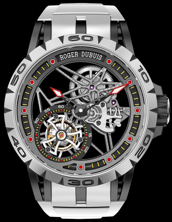 """Roger Dubuis Excalibur Spider Americas Edition Watch - by Patrick Kansa - More on this New York exclusive piece at: aBlogtoWatch.com - """"Limited editions in the world of luxury watches are quite commonplace. When you start talking about watches that are a limited release, and limited to a particular country, things sometimes get interesting. This often takes the form of a watch that is available only through a boutique that resides in said country. That is precisely what we have going on…"""
