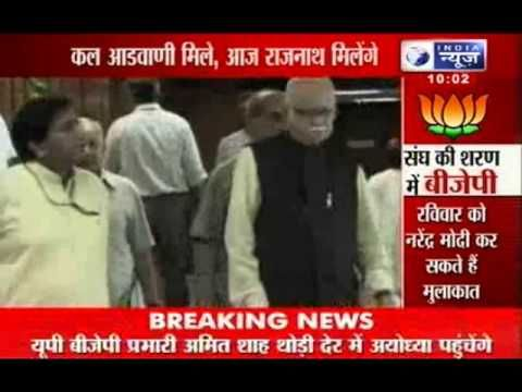 India News: BJP members working towards Mission 2014