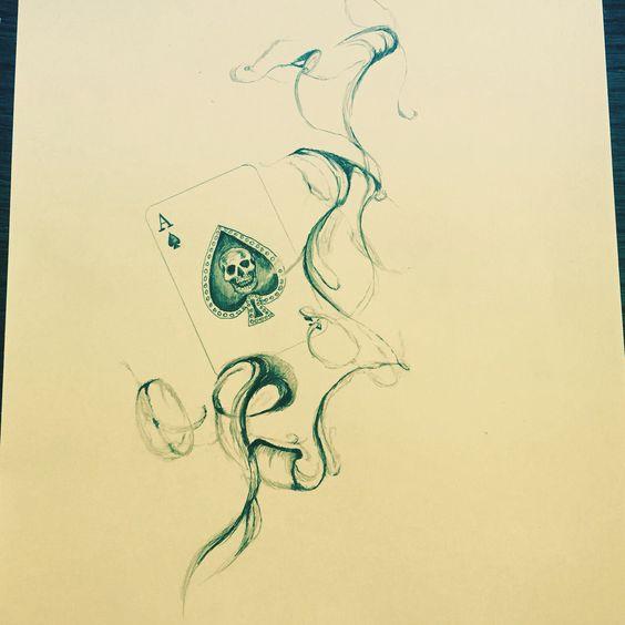 Smoke ace #smoke #ace #drawing
