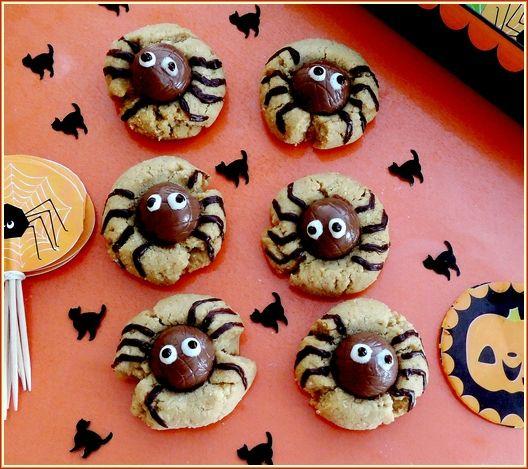 biscuits araignées
