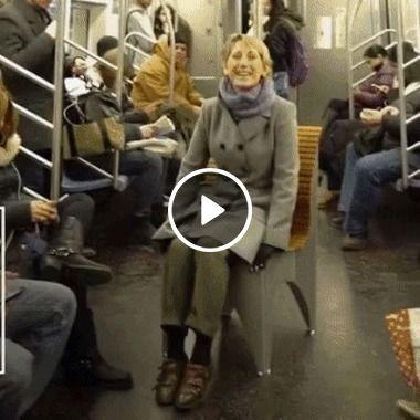 Cadeira portatil facilita a vida das peçoas