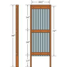Corrugated Metal Fence Diy Google Search Fence Ideas
