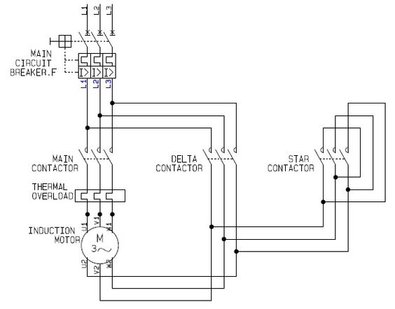 Using Star-Delta Motor Control (With Circuit Diagrams)   Circuits ...