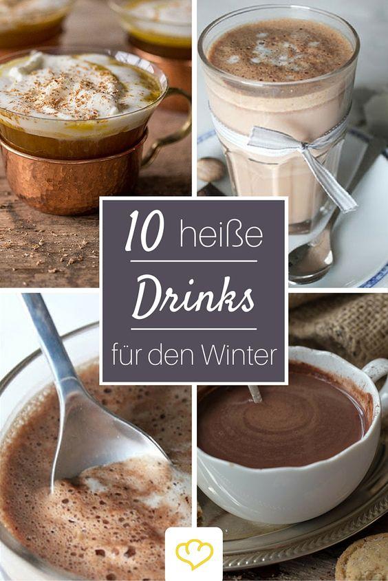 Von Hot Pumpkin Rum, über Glühwein bis zu veganem Kakao - diese heißen Drinks wärmen dich im Winter von Innen!
