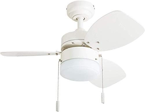 Honeywell Ceiling Fans 50600 01 Ocean Breeze Contemporary 30 Led Frosted Light Light Oak Satin Nickel Fin Ceiling Fan Ceiling Fan With Light Led Ceiling Fan