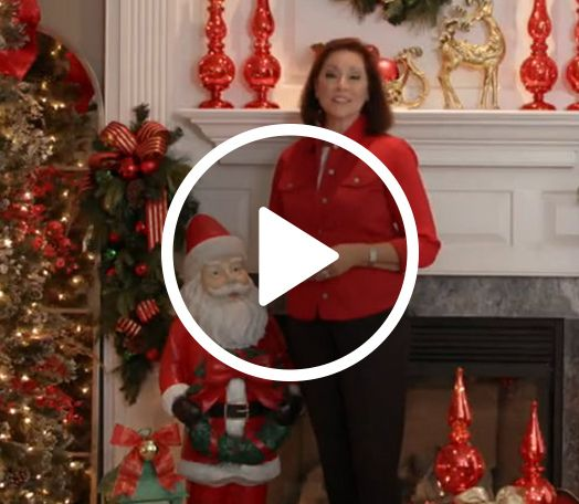 Festive Red Valerie Parr Hill Christmas Decorations Holidays And Events