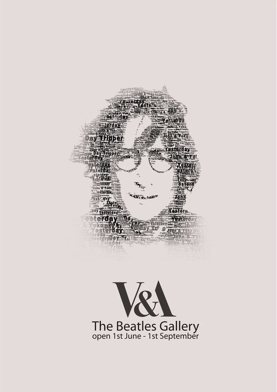 The Beatles Gallery V&A poster