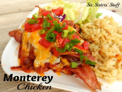 Monterey Chicken | Six Sisters' Stuff