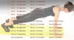 Vientre plano en 30 días con el famosísimo ejercicio del tablón