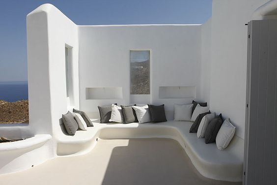 luxury houses in mykonos, architecture in mykonos, cycladic architecture, mykonos island, greece, the greek villas
