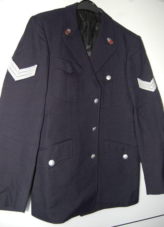 Jacke, Uniformjacke, Polizei Hamburg, bis 1978