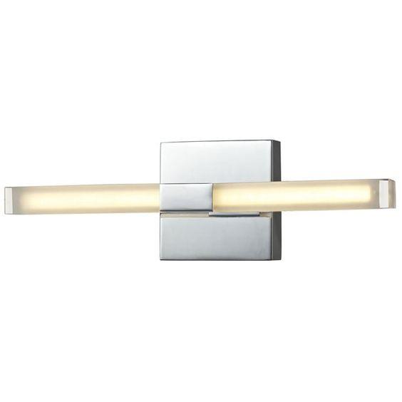 Applique 2 lampes Chromo Led - Métal chromé LUMINA : prix, avis & notation, livraison.  FICHE TECHNIQUE- Applique en métal et verre satiné acrylique.- Indice de protection IP44 : Protégé contre les projections d'eau dans toutes les directions.- Convient à une utilisation en salle de bain.- Interrupteur on/off intégré.CARACTERISTIQUES TECHNIQUES- Dimensions : L. 36 x H. 11 cm.- Type de culot : SMD.- Puissance maximale : 3,2 W.- Fonctionne avec 2 ampoules LED fournies.- Poids : 1 kg.