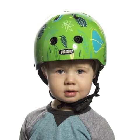 Go Green Go Baby Nutty Nutcase Helmets Deporte Ciclismo